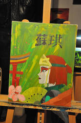 Suki - Avatar, the last Airbender - Acrylic