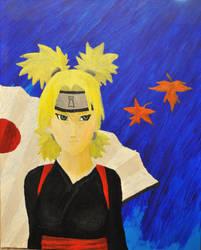 Temari -Naruto- Acrylic Painting