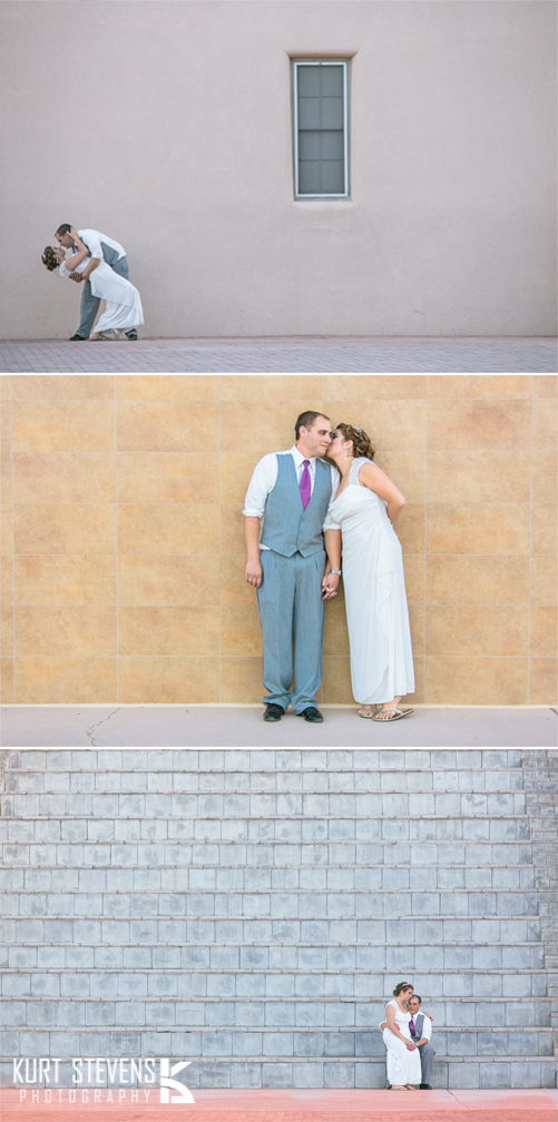 New Mexico Wedding Triptych by Bl4ck-and-wh1te