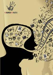 Hand Made Studios Internal Poster by ideacreative