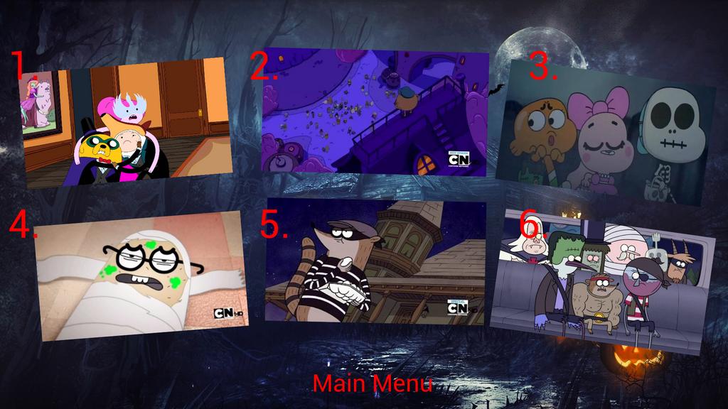 Cartoon Network Halloween 4 Episode Menu by GojiraFan1954 on ...