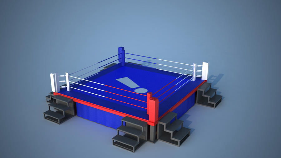Textured Boxing Ring VRay by tom55200
