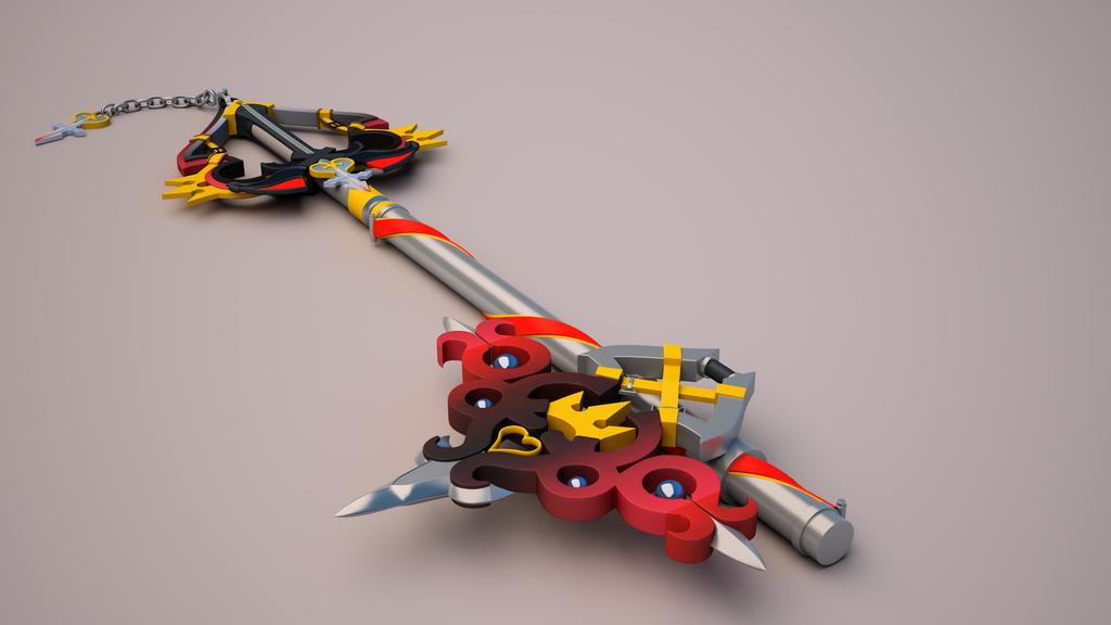 Sora's New Keyblade 2 by tom55200