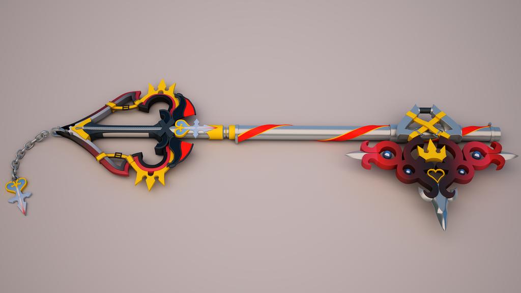 Sora's New Keyblade 3 by tom55200