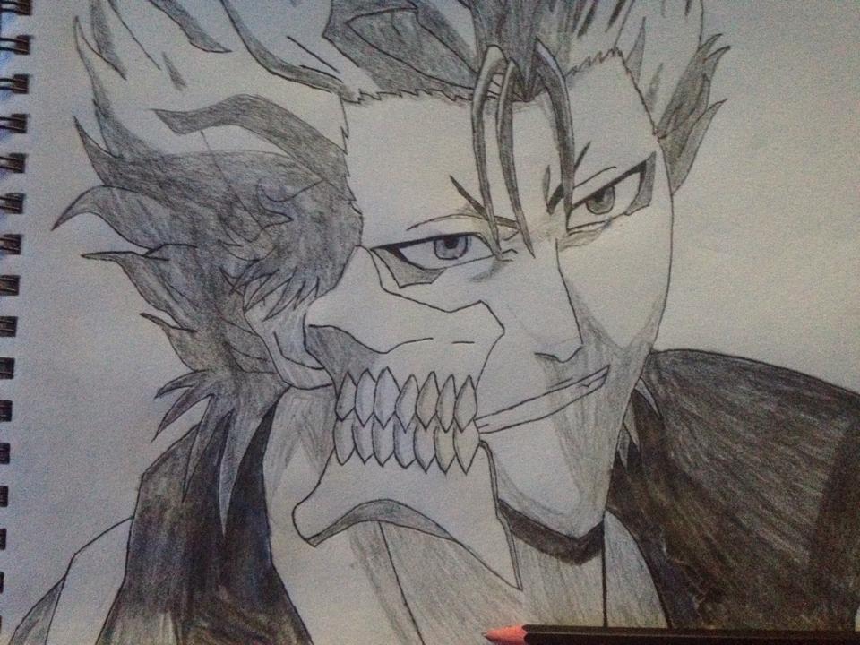 Grimmjow sketch by tom55200