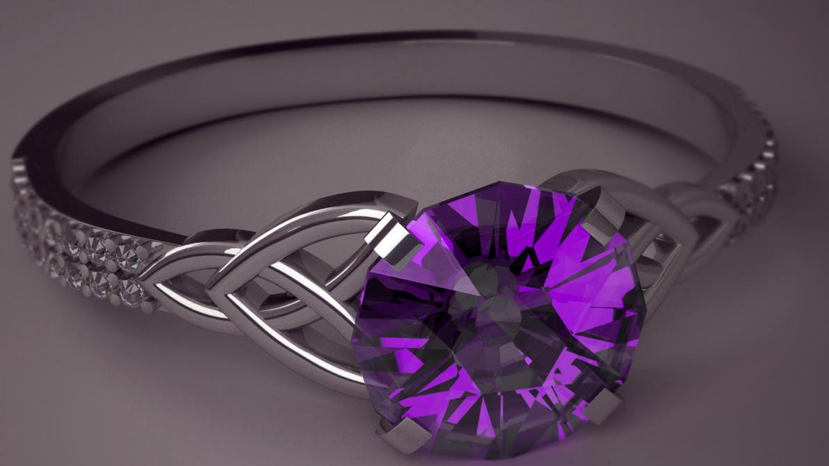 Amethyst Ring by tom55200
