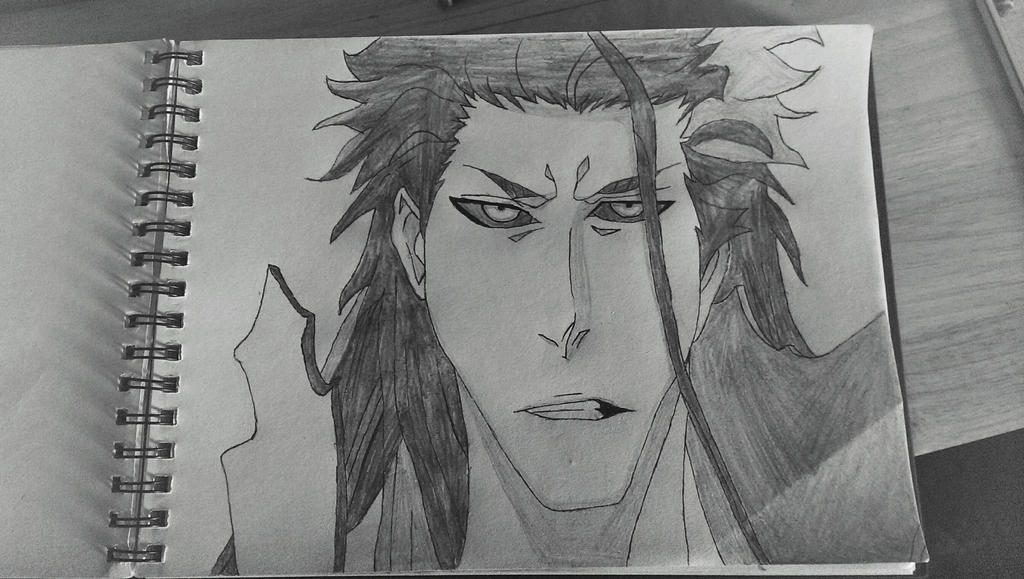 Aizen sketch by tom55200