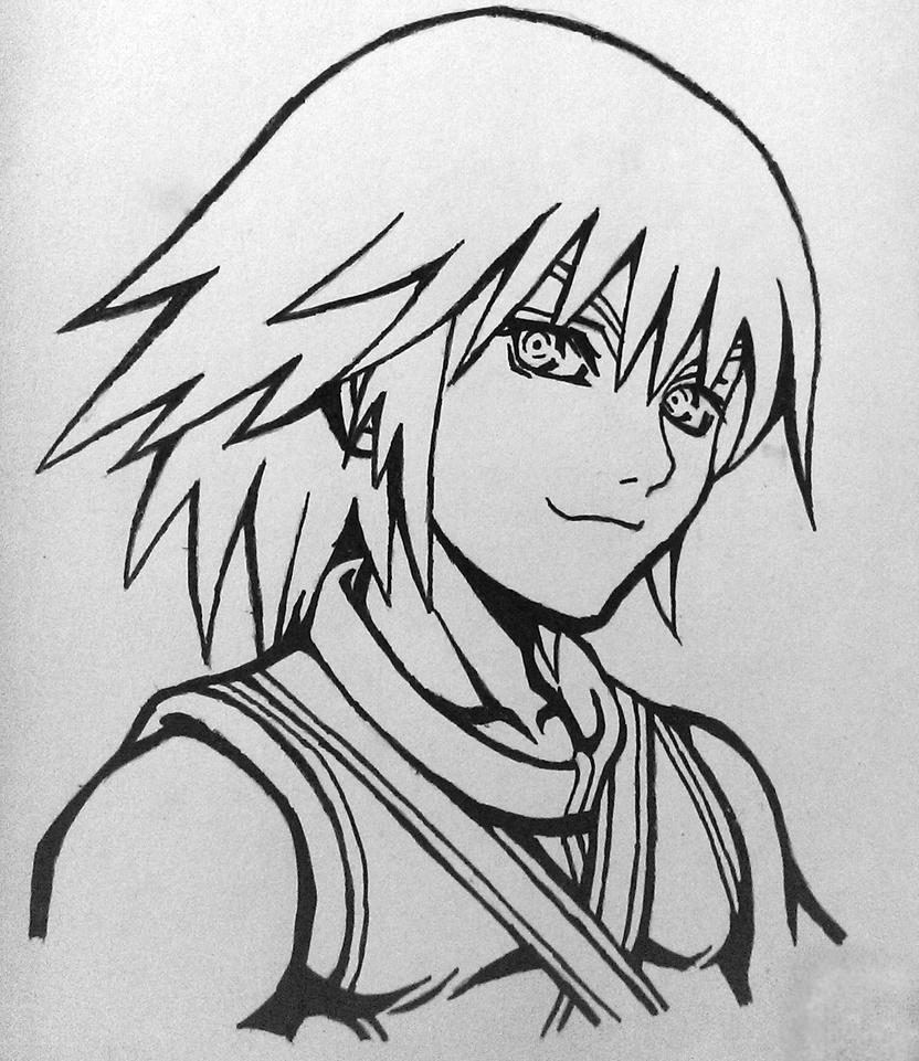 Riku Lines drawing by tom55200