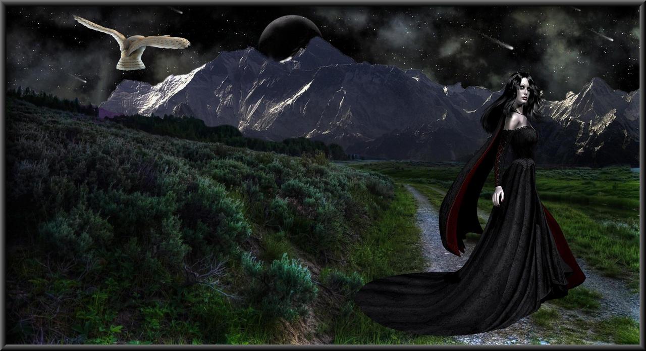 MOON GODDESS by DragonsChest