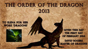 THE ORDER OF THE DRAGON 2013