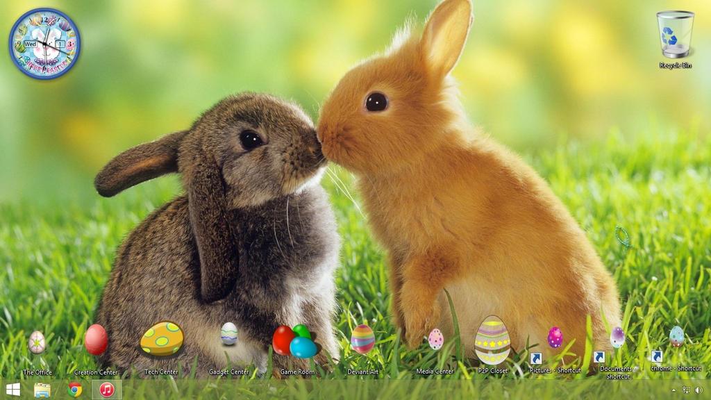 Easter Wallpaper by DragonsChest