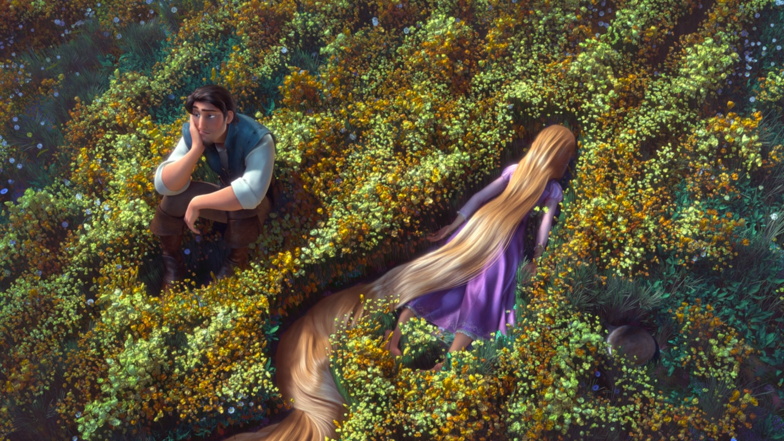 Flynn And Rapunzel By Nylah22 Tangled