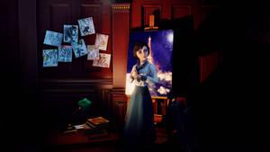 BioShock Infinite - Elizabeth, first saw. by Nylah22