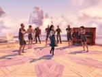 BioShock Infinite - Elizabeth dancing.
