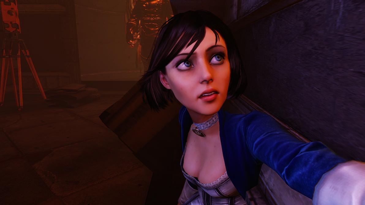 BioShock Infinite - he's there! by Nylah22