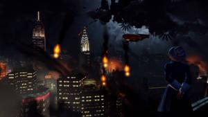 BioShock Infinite - Columbia, crashing down.