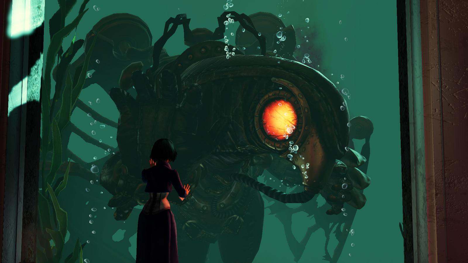 BioShock Infinite - ..bye bye Songbird. by Nylah22