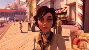 BioShock Infinite - such a beautiful girl..