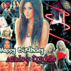 Happy Birthday Ashley tisdale by MyDesireForAT