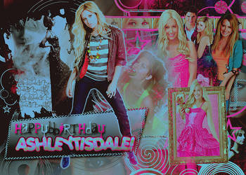 Feliz Cumple Ashley Tisdale by MyDesireForAT