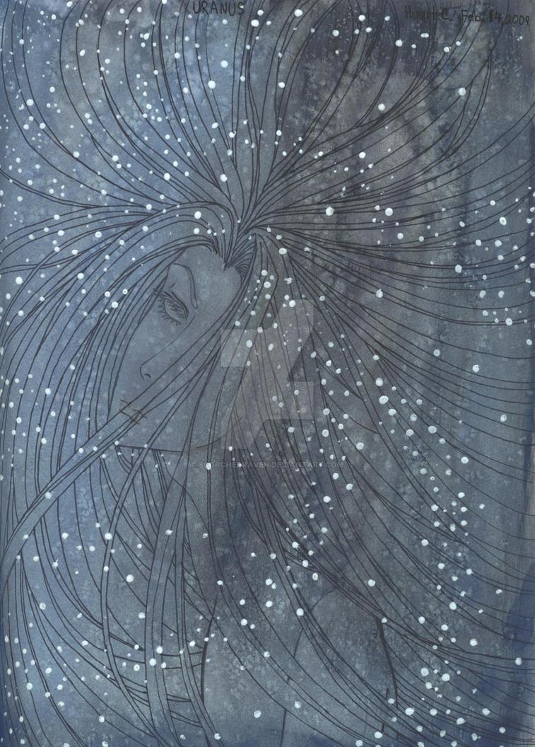 Uranus, Father Sky by ScorchedRaven