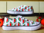 Watermelon Shoes by amanda4quah