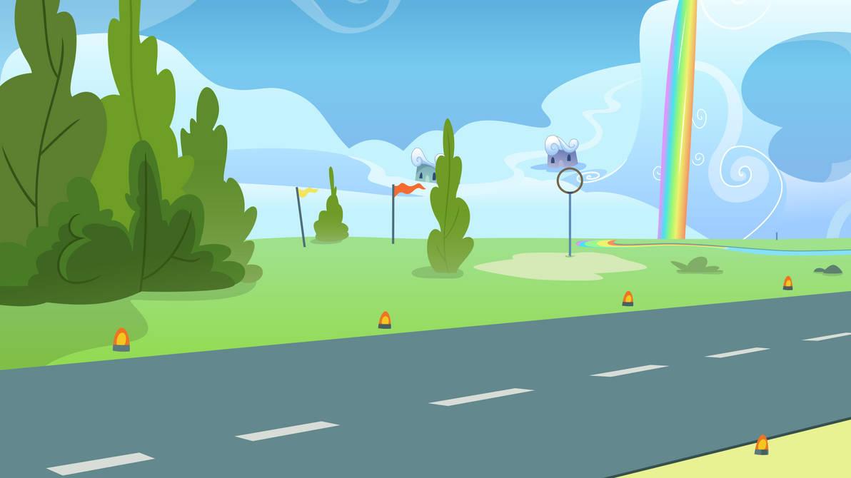 Wonderbolts Academy Background by ChainChomp2