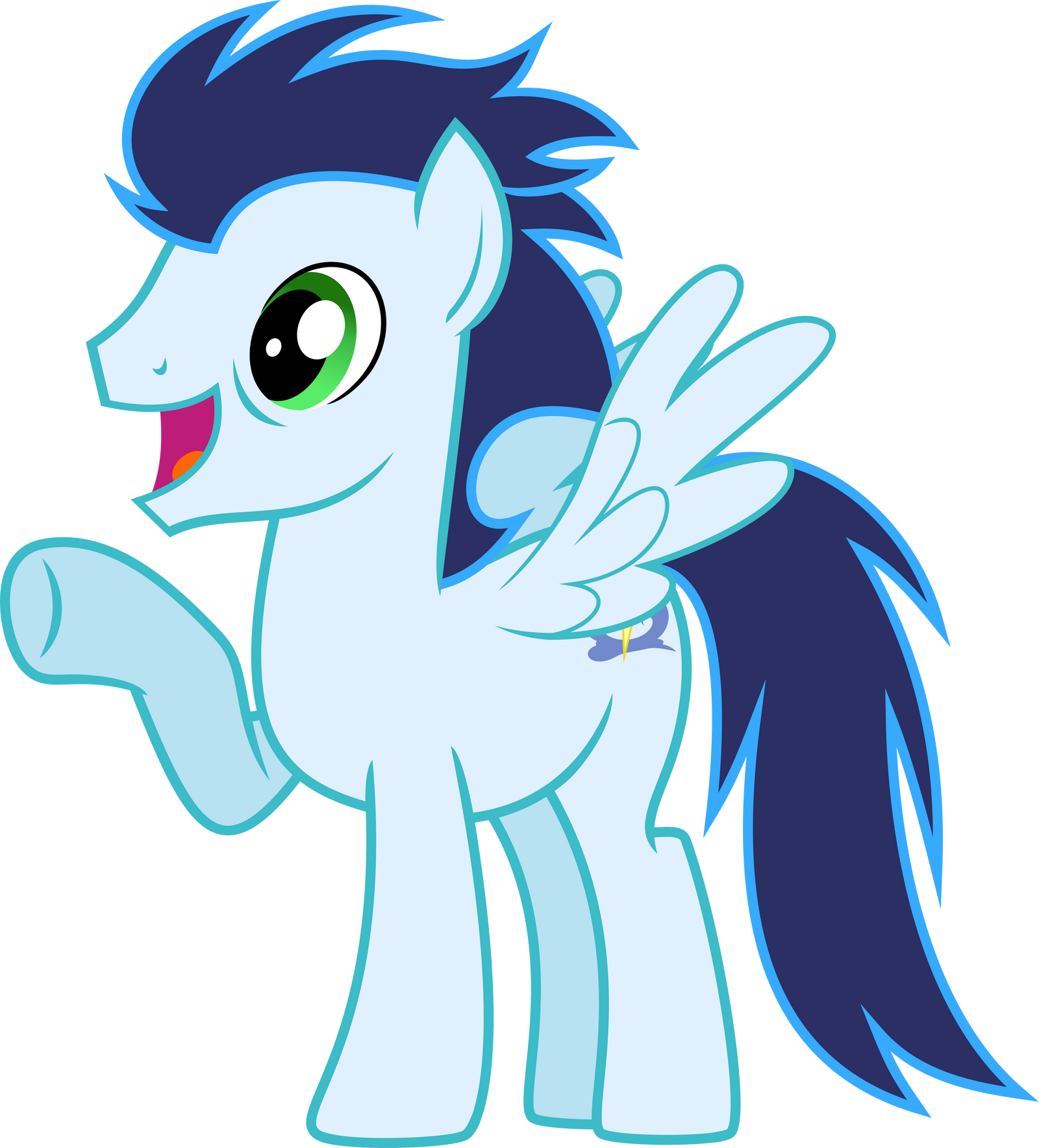Ecstatic Suitless Soarin' by ChainChomp2 on DeviantArt