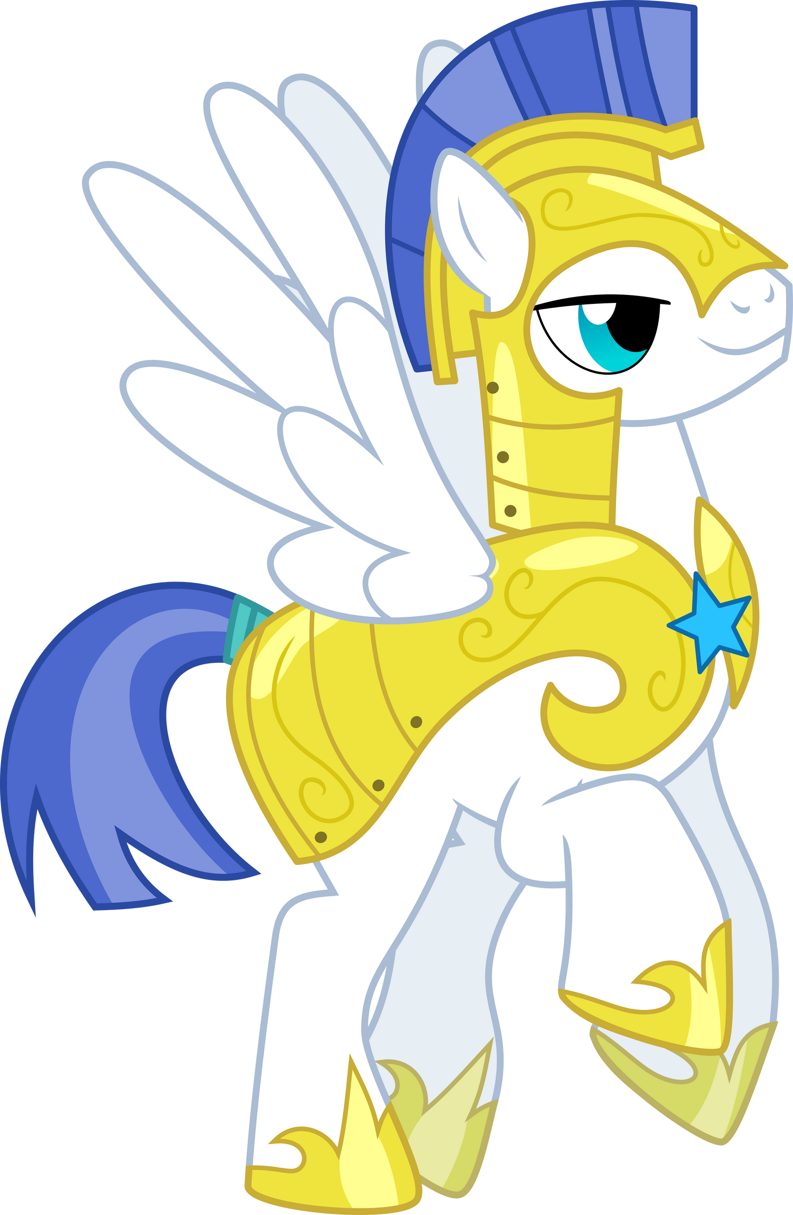 Flying Royal Pegasus Guard by ChainChomp2