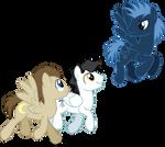 Space Ponies 2 (1 Year on deviantART)