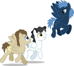 Space Ponies 2 (1 Year on deviantART)