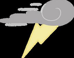 Thunderlane Cutie Mark by ChainChomp2