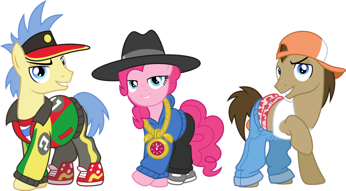 Rapper Ponies by ChainChomp2
