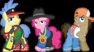 Rapper Ponies by ChainChomp2