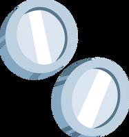 Silver Shill Cutie Mark by ChainChomp2