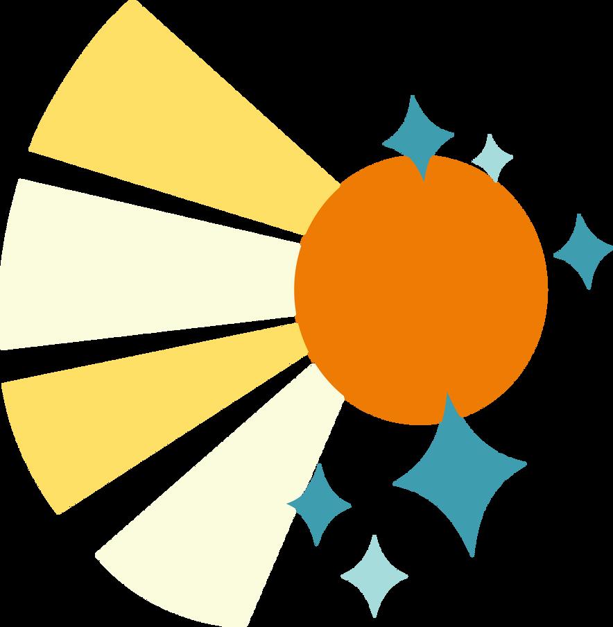 Sunburst Cutie Mark by ChainChomp2