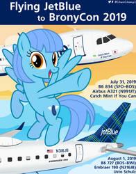 Jetstreaming to BronyCon 2019