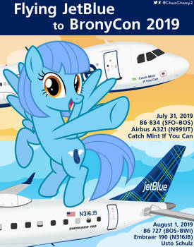 Jetstreaming to BronyCon 2019