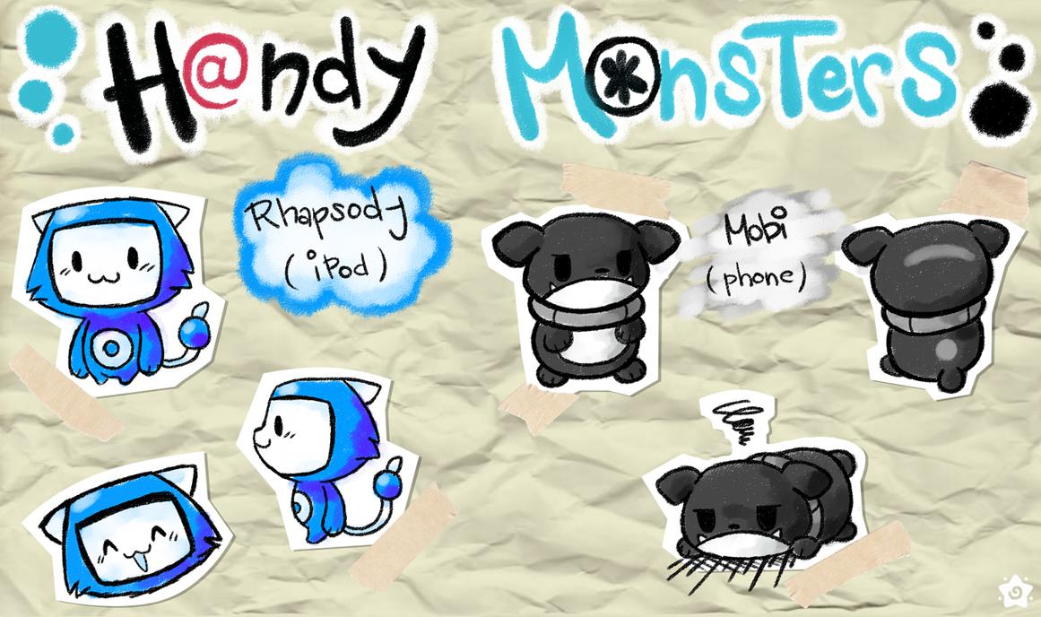 Hanmon: Rhapsody + Mobi by crayon-chewer