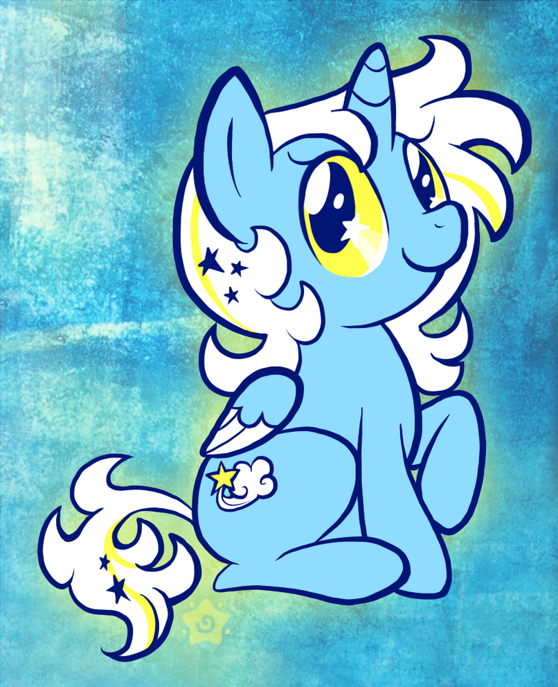My Little Pretty Pony by crayon-chewer