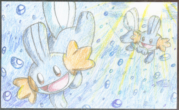 PokeCard entry numba 2 by crayon-chewer