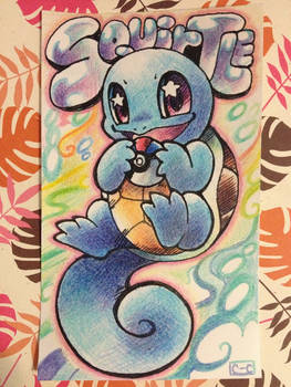 Squirtle Index Card