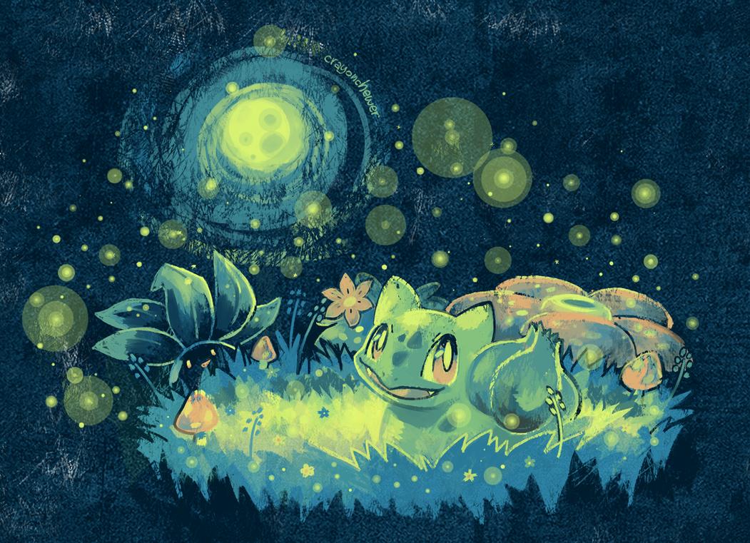 Moonlight Serenade by crayon-chewer