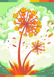 Fireflower by crayon-chewer