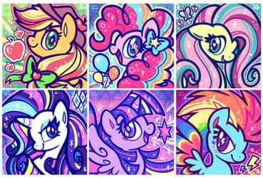 RAINBOW POWER!!! by crayon-chewer