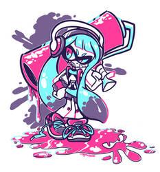 SQUID KID by crayon-chewer