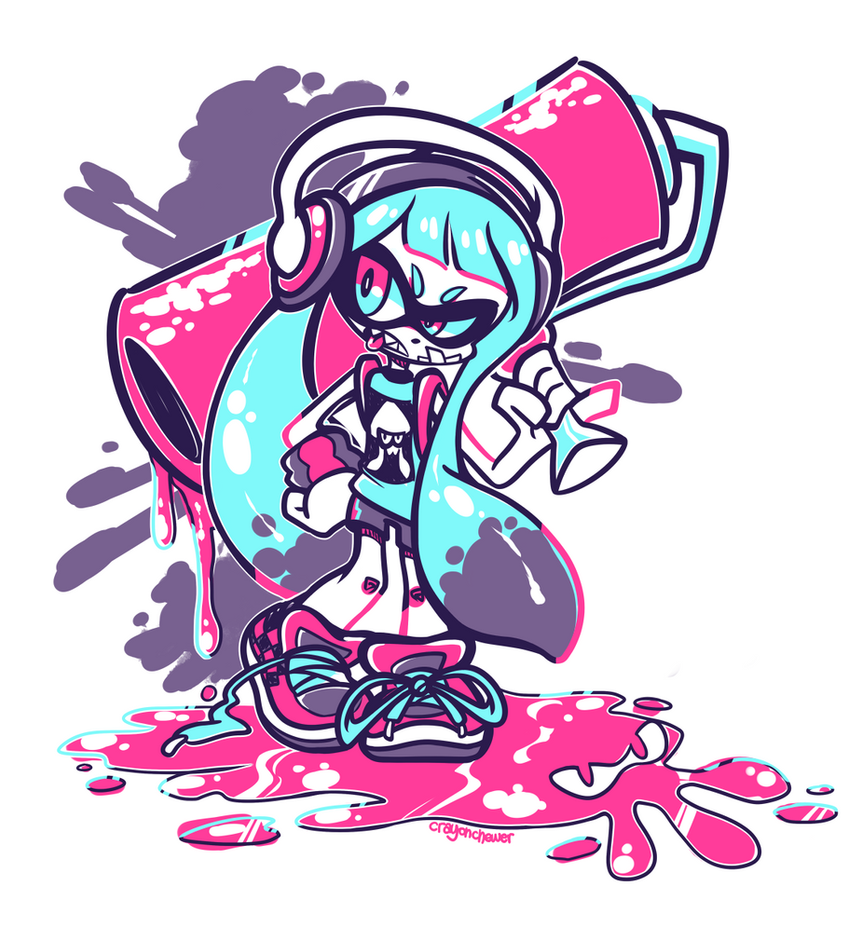 SQUID KID by crayon-chewer