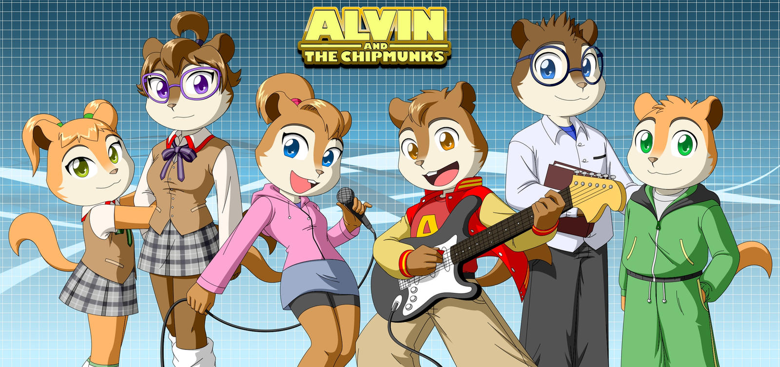 The Chipmunks And Chipettes 2 By Pak009 On DeviantArt