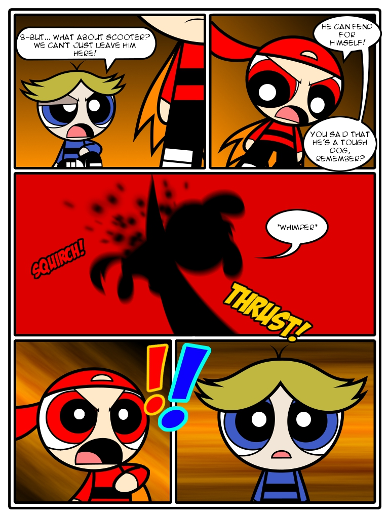 Likely. Powerpuff girls comic strips