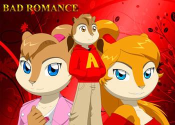 BrittanyxAlvinxCharlene - Bad Romance by Pak009
